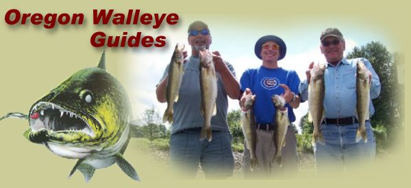 Fishing resources for Columbia river walleye fishing report